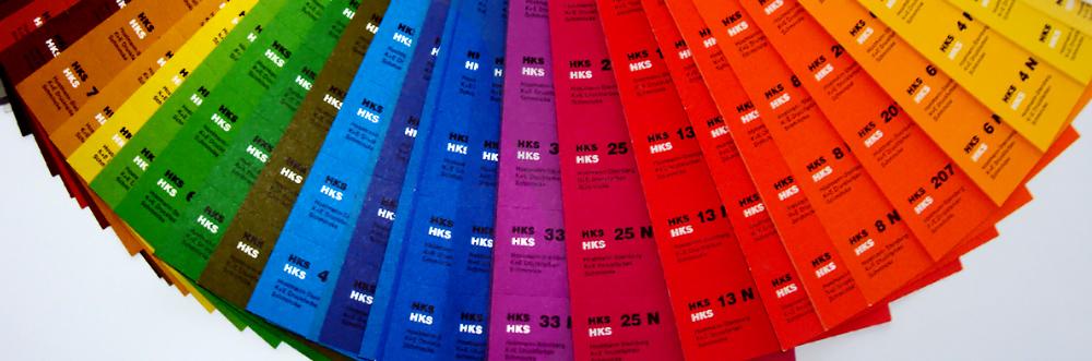 T&W Druck - Farbfächer